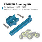 TPOWER Steering Kit for WLtoys 12428 12423 FY 01 02 03 04 05 07 1 12 RC P4G1