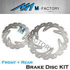 Front Rear Brake Disc Rotor Fit HUSABERG FX E 650 01-05