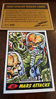 2014 TOPPS IDW LIMITED MARS ATTACKS REPRINT SKETCH PROMO CARD JEFF ZAPATA # 52