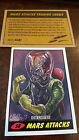 2014 TOPPS IDW LIMITED MARS ATTACKS REPRINT SKETCH TRADING CARD CHARLES HALL 58