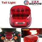 1X Red Lens LED Brake Tail Light For Electra Glide Ultra Classic