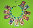 DARKOVER NOVELS BEADED SLIDER CHARM BRACELET