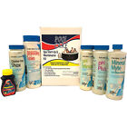 Qualco QLC 14890 Home 3 Month Spa Hot Tub Chemical Maintenance Kit with Bromine
