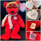 BEARON TY BEANIE BABY 100years Of FLIGHT! Collectible**
