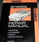 1996 TOYOTA PASEO Service Shop Workshop Repair Manual OEM Factory
