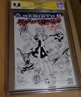 Harley Quinn #1 CGC 9.8 Signature Signed Conner Palmiotti Emerald City Sketch