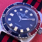 VINT ULYSSE NARDIN DIVER AUTOMATIC BLACK DIAL Ca 50 extremelly big NO RESERVE