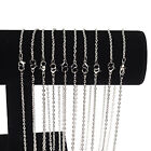 Wholesale 10 Pieces Lot Silver Plated Making DIY Hard Link Chain Necklace 22