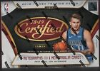 2018-19 Panini Certified Basketball Factory Sealed Hobby Box 3 Hits 2 AUTOS