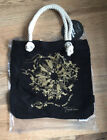 Alexander McQueen Printed Fashion Shopper Bag Black