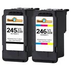 Replacement for Canon PG 245XL CL 246XL Ink Cartridges for PIXMA iP2820 MG2420