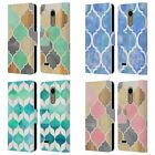 OFFICIAL MICKLYN LE FEUVRE QUATREFOIL 2 LEATHER BOOK WALLET CASE FOR LG PHONES 1