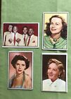 1952 Bowman Television And Radio Star Lot Vintage Non-Sports Card