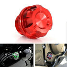 For Yamaha SEROW225 YFZ450 Motorcycle Racing Engine Oil Fill Plug Tank Cover Red