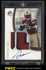 2005 SP Authentic Gold Frank Gore ROOKIE RC AUTO 3-CLR PATCH 25 #224 (PWCC)
