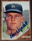 Don Drysdale Cards and Autographed Memorabilia Guide 32