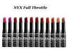 NYX Full Throttle Lipstick CHOOSE COLOR New Sealed