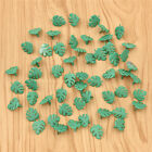 50Pcs Green Leaf Brads DIY Scrapbooking Embellishment Photo Album Decoration