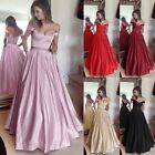 Women Formal Wedding Bridesmaid Long Evening Party Ball Prom Cocktail Dress Lot