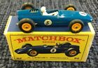 Vintage Matchbox Lesney 52 BRM Racing Car In Original box