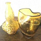 2 Amber Vase In Collectible Vases for sale  eBay