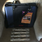 THE SCRAPRACK TRAVEL SCRAPBOOK BLUE TOTE ORGANIZER WITH EXTRAS TOTALLY TIFFANY