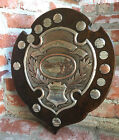 Antique English Mariner Angling Fishing Club Trophy Award 1923 Silverplate