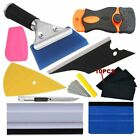 Pro Car Window Tint Vinyl Felt Squeegee Film Wrap Tool Scraper Bubble Pen Blades
