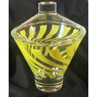 Hazel Atlas MCM Candy Dish - Yellow Swirl - Beautiful Condition