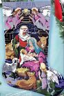 Bucilla Nativity Manger Angels Animal Christmas Needlepoint Stocking Kit 60712
