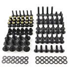Motorcycle Steel Full Fairing Bolts Kit Bodywork Screw Kit Nuts Fit For Kawasaki