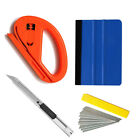 Combo Vinyl Felt Squeegee Film Wrap Tool Bubble Removal Pen Magnet Window Tint