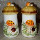 Vintage SEARS Merry Mushrooms SP Salt  Pepper Shakers Made in JAPAN