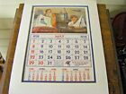 Matted  Wrapped Calendar Page May 1938