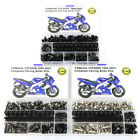 Fairing Bolt Kit Nuts Body Screws Nuts Fit For YAMAHA YZF600R YZF750R YZF1000R