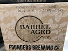 Founders Canadian Breakfast Stout *Case empty collector bottles