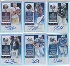 6 Card Lot 2015 Contenders Silver Foil 99 Rookie RC No dupes Fajardo Bell Magee