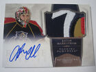 2010-11 Panini Dominion Jacob Markstrom Rookie Autograph Patch #d 57 99 Panthers