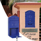 Hot Vintage Retro Cast Wall Mount Mailbox Letter Post Safe Box Cost-Effective