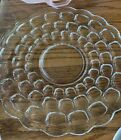Federal Glass YORKTOWN Clear Colonial Sandwich Plate Mid-Century