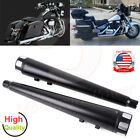 Megaphone Motorcycle Exhaust Pipe Slip On Mufflers For Harley Touring 1995 2016