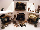 49 Pc OHOLY NIGHT BETHLEHEM VILLAGE NATIVITY SET 4 Buildings 10 FigureCh