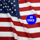 USA US US American Flag 4x6 FT Sewn Stripes Embroidered Stars Grommets