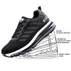 JACKSHIBO Womens Sneakers Athletic Tennis Running Shoes Air Cushion Comfortable