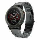 Quick Replacement Band Strap For Garmin Fenix 5X Watch Stainless Steel Bracelet