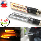 Motorcycle Universal Turn Signals Tail Lights Cafe Racer Sport Racing Dirt Bike