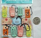 Jolees stickers vintage style luggage tags travel vacation cruise suitcase