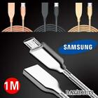 Metal Micro USB Data Sync Charging Charger Cable For Various Samsung Phones