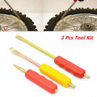 Wheel Tire Lever Spoon Crowbar Motorcycle Tire Change Replace Irons 3x Tool Kit