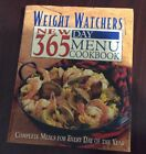 Weight Watchers New 365 Day Menu Cookbook ISBN 0 02 861015 6